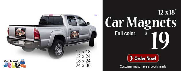 Cheap Vehicle Car Magnets West Palm Beach - Custom car magnets cheap